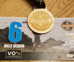 My first ultramarathon Finish